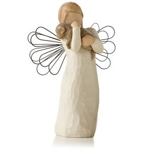 Willow Tree Angel of Friendship Animal Lover Fig
